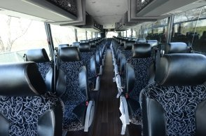 Luxury Coach Buses inner view