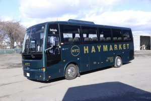 Luxury Coach Bus Haymarket Transportation
