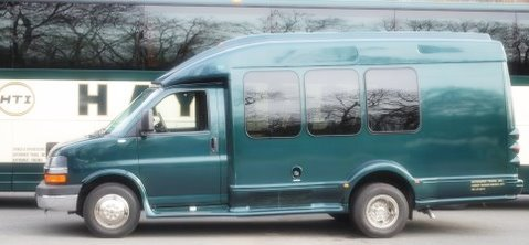 Luxury Coach Buses, 13 seater Haymarket Transportation