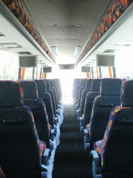 Picture of bus seats